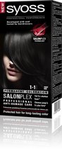 SYOSS Color baseline 1-1 Zwart - Haarverf