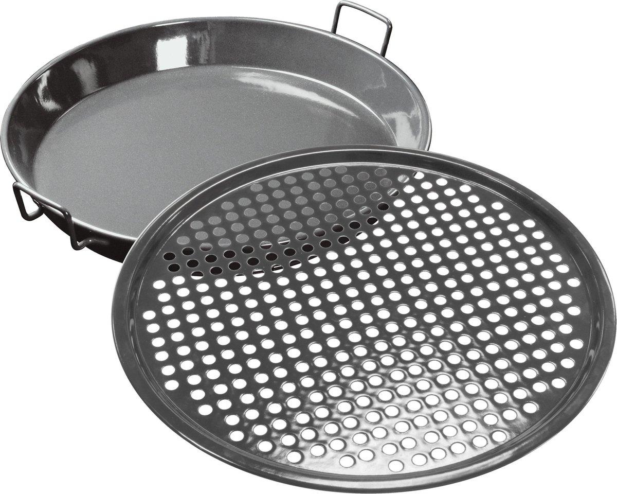 Gourmetset M - Set van pan en bakrooster - Outdoorchef