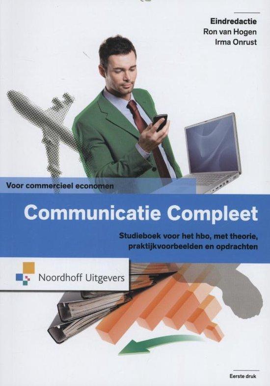 Communicatie compleet voor commercieel economen - Ron van Hogen |