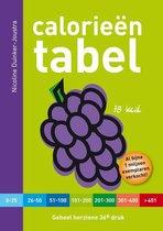 Boek cover Calorieëntabel van Nicoline Duinker-Joustra (Paperback)