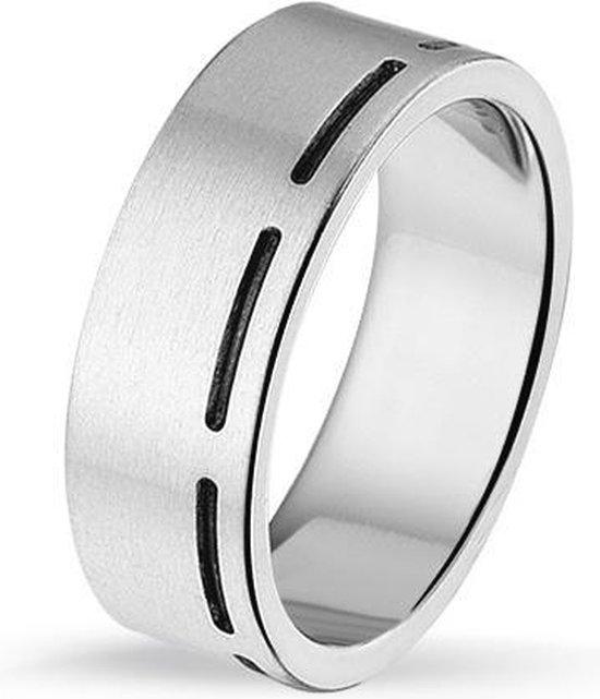 Ring in edelstaal - Tresor Jewellery