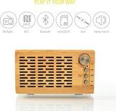 "Smart Bluetooth-luidspreker ""DJ Roxxx Big Woody"" | Draagbare draadloze luidspreker NFC Pai"