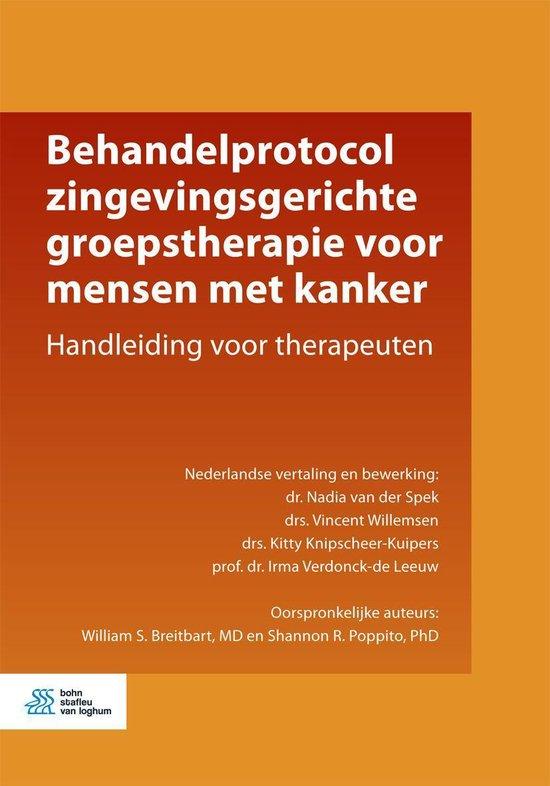 Behandelprotocol zingevingsgerichte groepstherapie voor mensen met kanker - Nadia van der Spek |