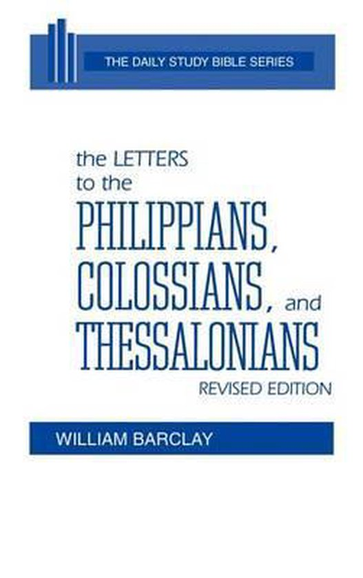 Boek cover The Letters to the Philippians, Colossians, and Thessalonians van Peter C. Craigie (Hardcover)