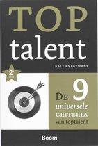 Toptalent. De 9 universele criteria van toptalent