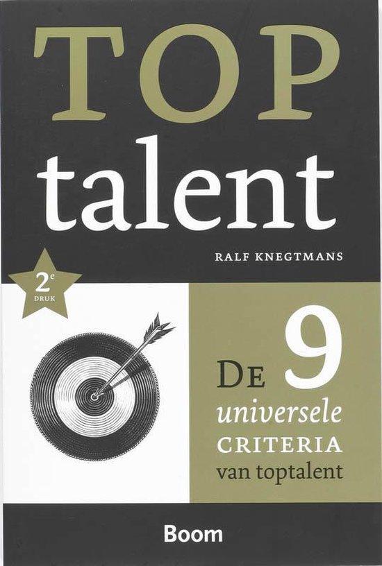 Toptalent - Ralf Knegtmans pdf epub