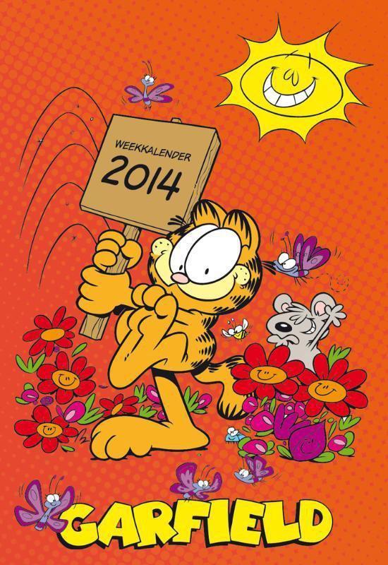 Cover van het boek '*WEEKKALENDERS 2014 GARFIELD'