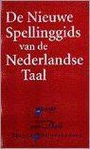 Boek cover De nieuwe spellinggids van de Nederlandse taal van Riemer Reinsma