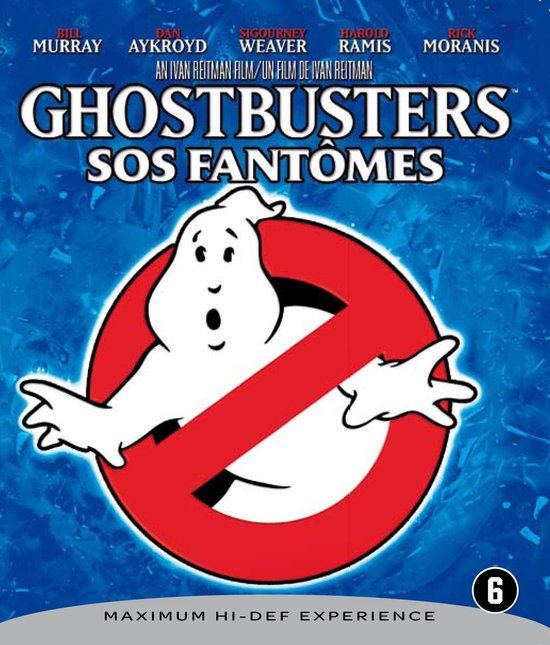 Cover van de film 'Ghostbusters'