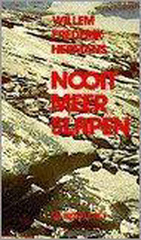 Boek cover Nooit meer slapen van Willem Frederik Hermans (Paperback)