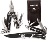 Tactisch Zakmes - Zakmes set - Survival Mes - Kampeer Zakmes - Multitool - Scouting mes - 3 delig - WorkPro