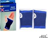 Polsbrace 2x - Bandage - Handbeschermer - Verrekking - Blessure - Blauw