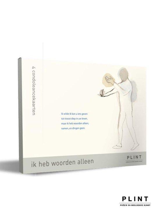 Plint - Plint mapje condoléancekaarten'Ik heb woorden alleen' - Herman Gorter |