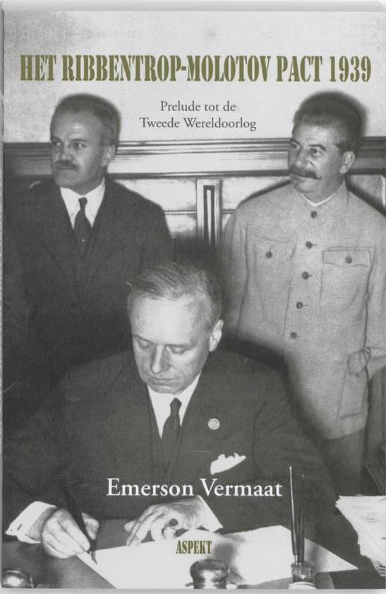 Boek cover Het Ribbentrop-Molotov Pact 1939 van E. Vermaat (Paperback)