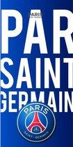 Paris Saint Germain Letters - Strandlaken - 70 x 140 cm - Blauw