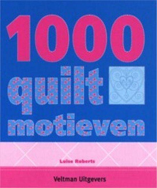 Cover van het boek '1000 quilt-motieven' van Luise Roberts