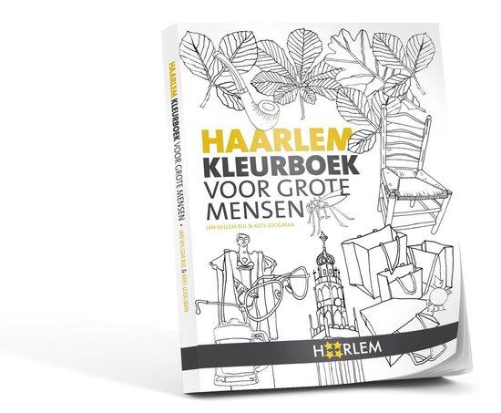 Haarlem Kleurboek voor grote mensen - Kees Loogman  