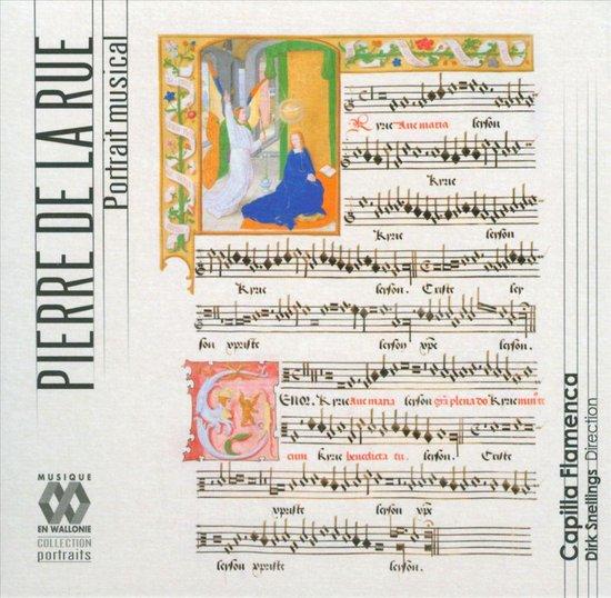 CD cover van Portrait Musical van Capilla Flamenca