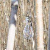 Set van 2 Tuinlampen op Zonneenergie | Solar Lamp | Tuinverlichting | Tuinlamp Ophangbaar