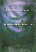 Mimansabalaprakasha
