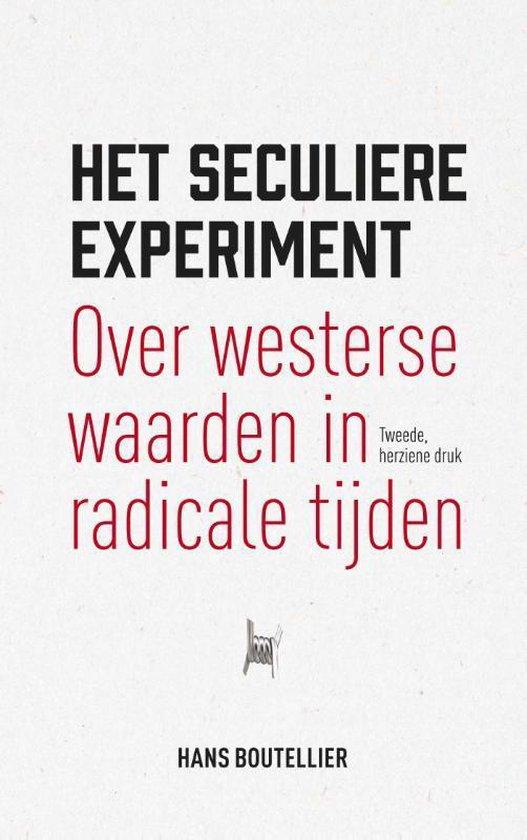 Boek cover Het seculiere experiment van Hans Boutellier (Paperback)