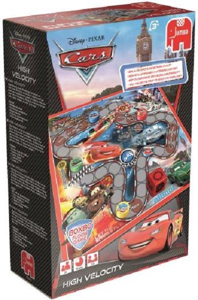 Cars High Velocity Vloerspel