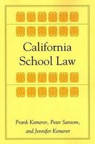 Omslag California School Law