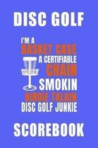 Basket Case Disc Golf Scorebook