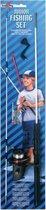 Kinder vishengel set 71 cm