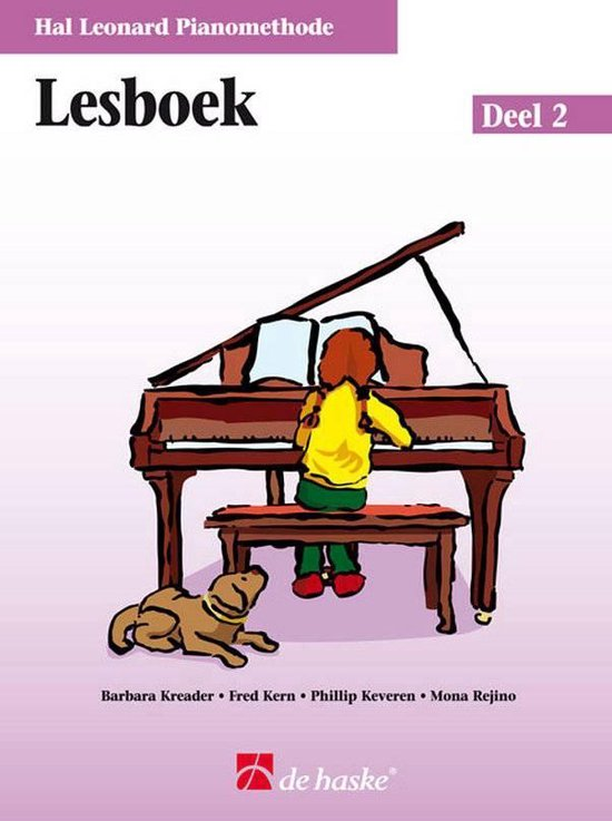 Boek cover Lesboek De Hal Leonard Piano Methode 2 van Phillip Keveren (Onbekend)
