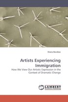 Boek cover Artists Experiencing Immigration van Diana Barabas