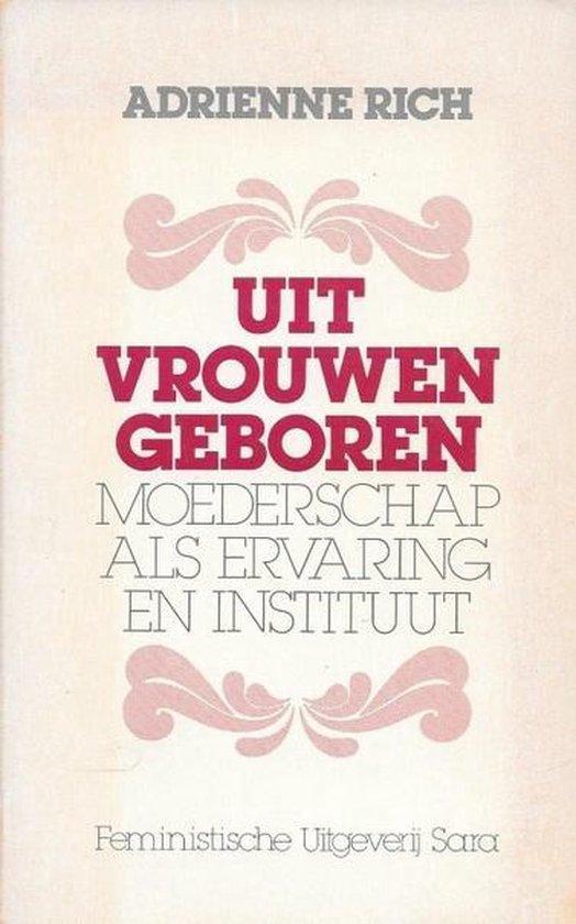 UIT VROUWEN GEBOREN - Adrienne Rich pdf epub