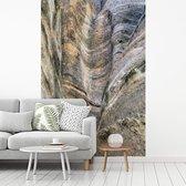 Prachtig patroon van de rotsen in het Nationaal park Santa Fe fotobehang vinyl 240x360 cm - Foto print op behang