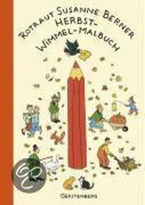 Boek cover Herbst-Wimmel-Malbuch van Rotraut Susanne Berner (Paperback)
