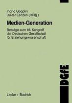 Boek cover Medien-Generation van