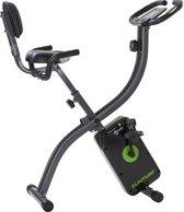 Tunturi Cardio Fit B25 X-Bike - Hometrainer - X-Bike - Opvouwbare hometrainer - Opklapbare hometrainer met rugleuning - Fitness Fiets