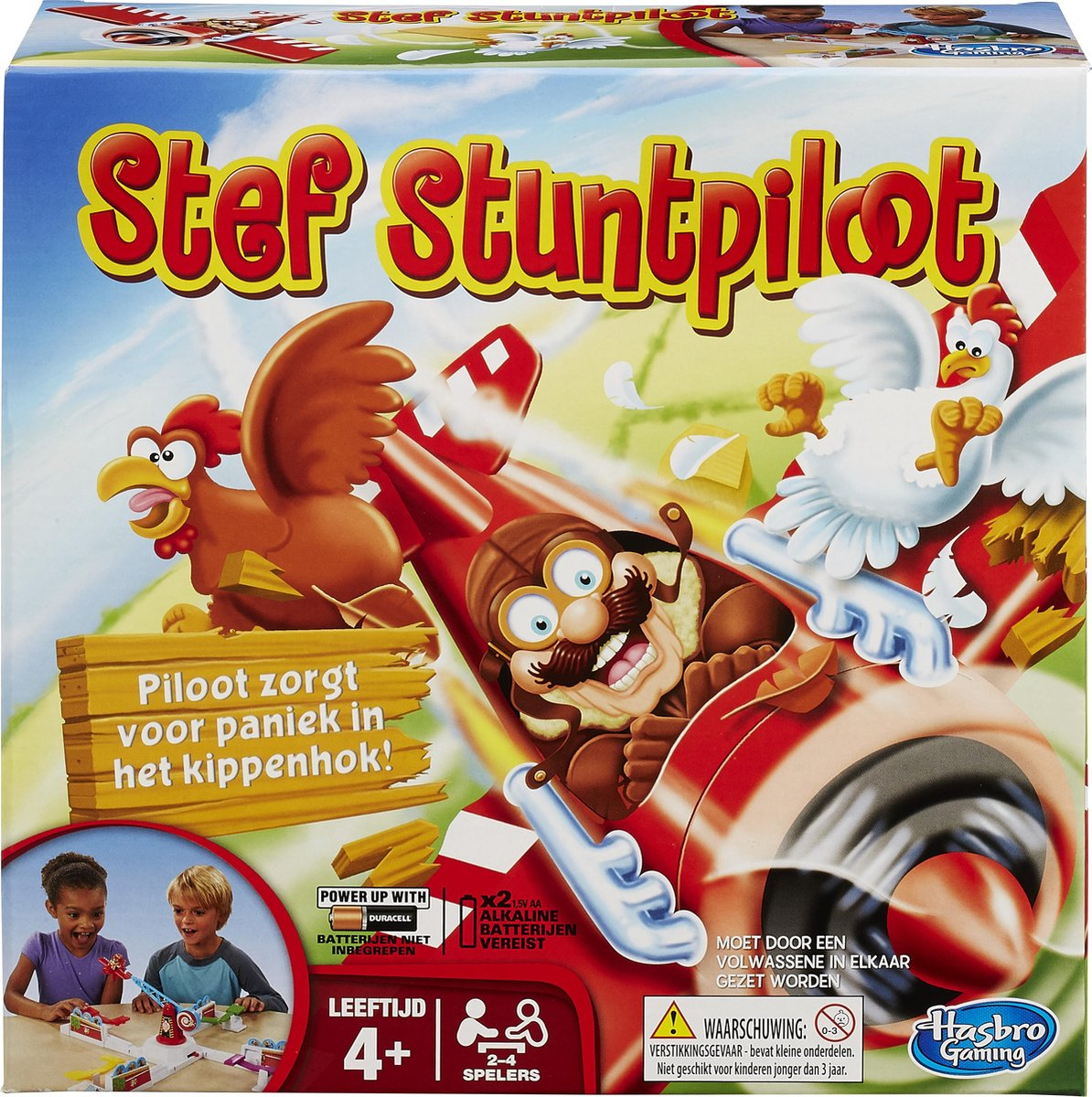 Stef Stuntpiloot - Bordspel