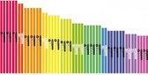BoomWhackers Basic School Set (28-delig) Muziek instrumenten