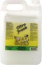 Waggly Citro Fresh Geurverwijderaar - 5 l