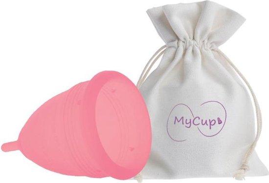 MyCup Herbruikbare Menstruatiecup - Large - Roze