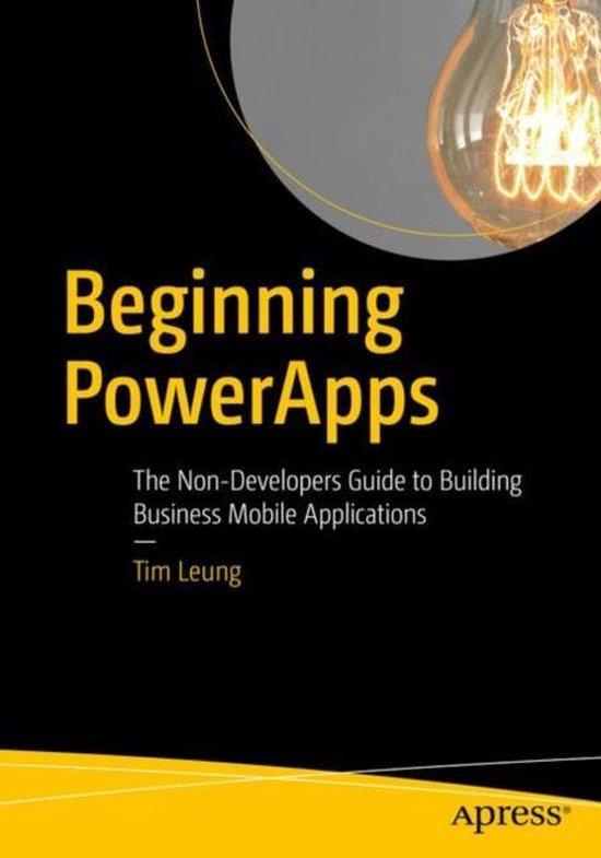 Beginning PowerApps
