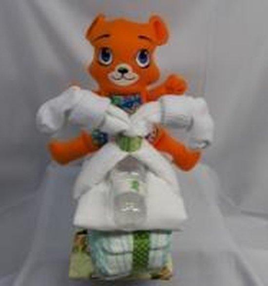 Brommer groot beer ted oranje