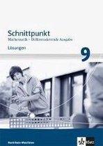 Schnittpunkt Mathematik - Differenzierende Ausgabe Nordrhein-Westfalen ab 2013. Lösungen 9. Schuljahr