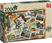 Jumbo Wonders of the World Puzzel 2000 stukjes