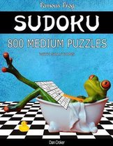 Famous Frog Sudoku 800 Medium Puzzles with Solutions