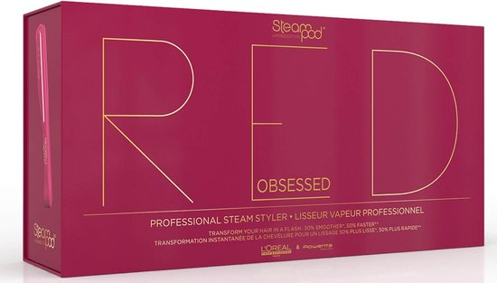 L'oréal steampod 2 limited edition red Stijltang