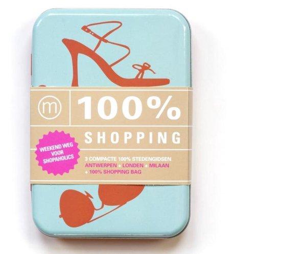 Cover van het boek '100% Shopping- boekbox' van  Nvt