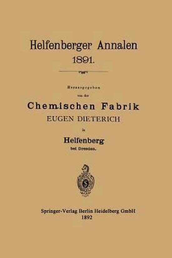 Helfenberger Annalen 1891