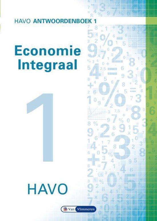 Economie integraal havo Antwoordenboek 1 - Ton Bielderman |