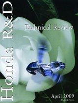 HONDA R&D TECHNICAL REVIEW